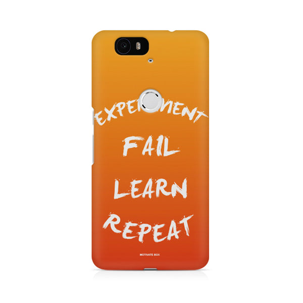Experiment Fail Learn Repeat - Entrepreneur Quotes Huwaei Honor 4C printed back cover