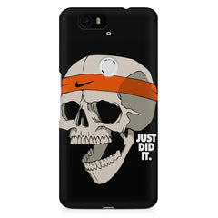 Skull Funny Just Did It !  design,  Huawei Nexus 6p printed back cover