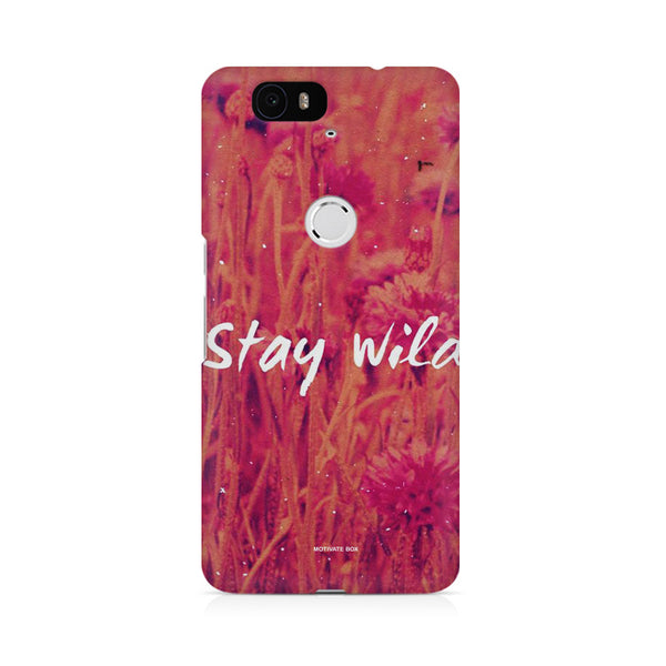 stay wild Huwaei Honor 4C printed back cover