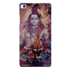Shiva painted design Huwaei Honor 8 printed back cover
