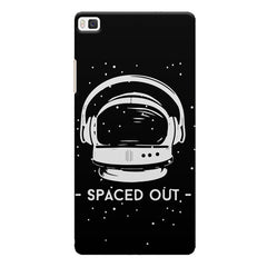 Spaced out by music design Huwaei Honor 8 printed back cover