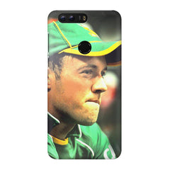 AB de Villiers South Africa  Huawei Honor 7C hard plastic printed back cover