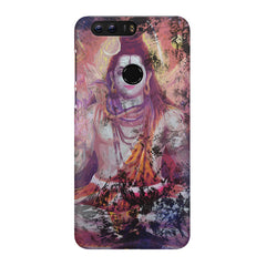 Shiva painted design Huawei Honor 7C hard plastic printed back cover