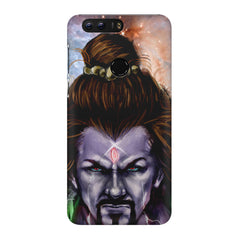 Shiva Anger  Huawei Honor 7C hard plastic printed back cover