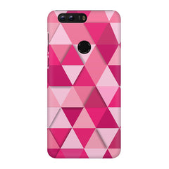 Girly colourful pattern Huawei Honor 7C hard plastic printed back cover