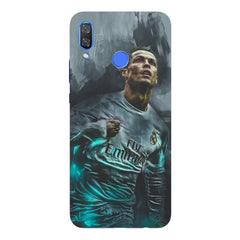 Oil painted ronaldo  design,  Huawei Nova 3 hard plastic printed back cover