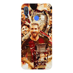 Messi  design,  Huawei Nova 3 hard plastic printed back cover