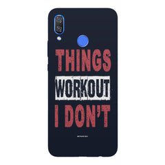 Things Workout I Don'T design,  Huawei Nova 3 hard plastic printed back cover