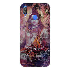 Shiva painted design Huawei Nova 3 hard plastic printed back cover