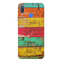 Strips of old painted woods  Huawei Nova 3 hard plastic printed back cover