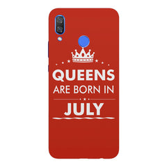 Queens are born in July design Huawei Nova 3 hard plastic printed back cover