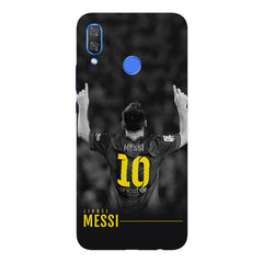 Messi Jersey 10 back view design Huawei Nova 3 hard plastic printed back cover