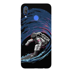 Astronaut space surfing design Huawei Nova 3 hard plastic printed back cover