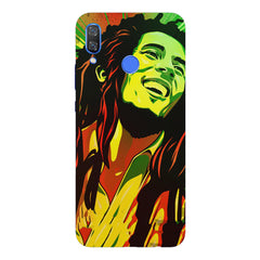 Bob Marley Multi colour fun Portrait Painting  capturing him in his happy avatarHuawei Nova 3 hard plastic printed back cover
