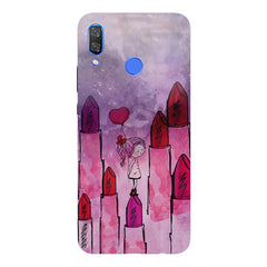 Lost in the world of Lipsticks design Huawei Nova 3 hard plastic printed back cover