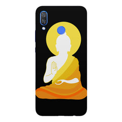 Buddha abstract paintingHuawei Nova 3 hard plastic printed back cover