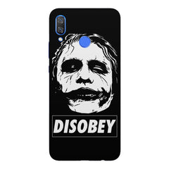Joker disobey design Huawei Nova 3 hard plastic printed back cover