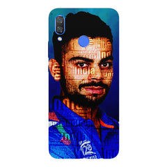 Virat Kohli India inscribed design Huawei Nova 3 hard plastic printed back cover