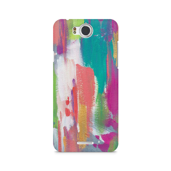 Abstract Painting Infocus M530 printed back cover