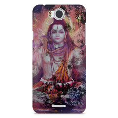 Shiva painted design InFocus M530 printed back cover