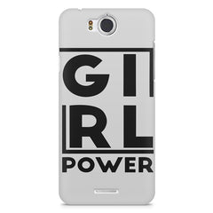 Girl power deisgn InFocus M530 printed back cover