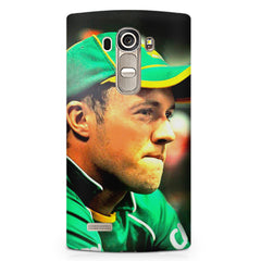 AB de Villiers South Africa  LG G4 printed back cover