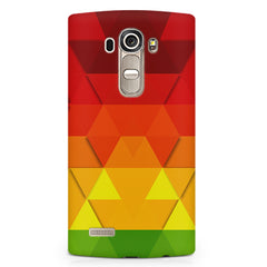 Colourful texture pattern LG G4 printed back cover