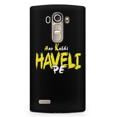 Aao kabhi haveli pe  design,  LG G4 printed back cover
