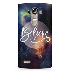 Believe in yourself LG G4 Stylus printed back cover