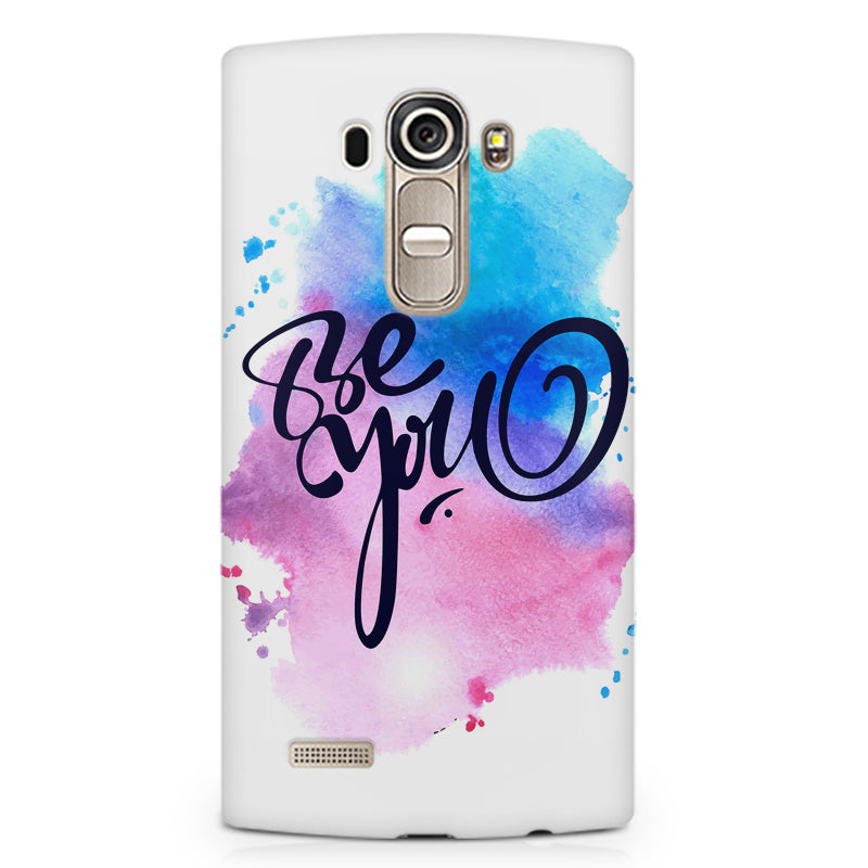 competitive price 4bc06 ea737 Be yourself design LG G4 Stylus printed back cover