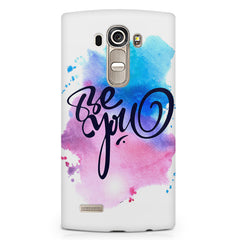 Be yourself design LG G4 Stylus printed back cover