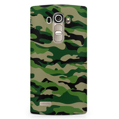 Military design design LG G4 printed back cover