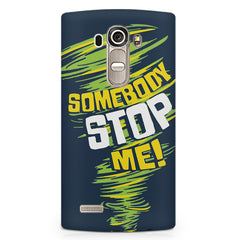 Be Unstoppable design LG G4 Stylus printed back cover