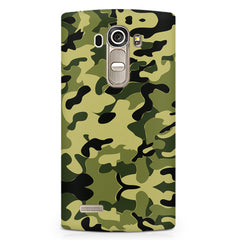 Camoflauge army color design LG G4 printed back cover