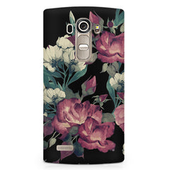 Abstract colorful flower design LG G4 Stylus printed back cover