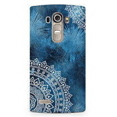 Authentic rangoli pattern LG G4 Stylus printed back cover