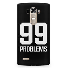 99 problems quote design LG G4 Stylus printed back cover