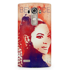Beyonce sketch design LG G4 Stylus printed back cover