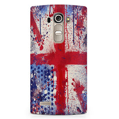 British flag design LG G4 printed back cover