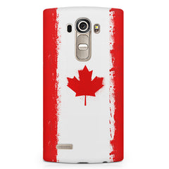Candian flag design LG G4 printed back cover