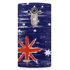 Australian flag design LG G4 Stylus printed back cover