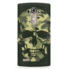 Camouflage skull design LG G4 printed back cover