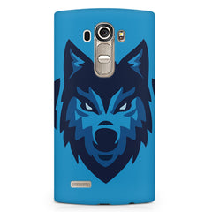 Wolf logo design LG G4 printed back cover