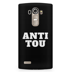 Anti You quote design LG G4 printed back cover