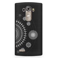 Ethnic design pattern LG G4 printed back cover