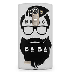Being Baba design LG G4 printed back cover