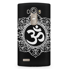 Om rangoli design LG G4 printed back cover