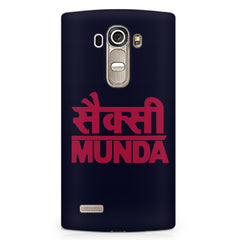 Sexy Munda quote design LG G4 printed back cover