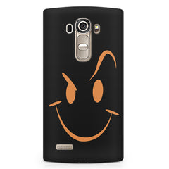 Smilie like The Rock design LG G4 printed back cover