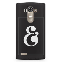 & design LG G4 printed back cover